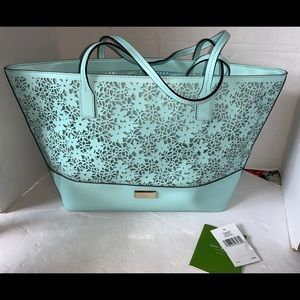 Kate spade purse rare HTF Aqua new with tags